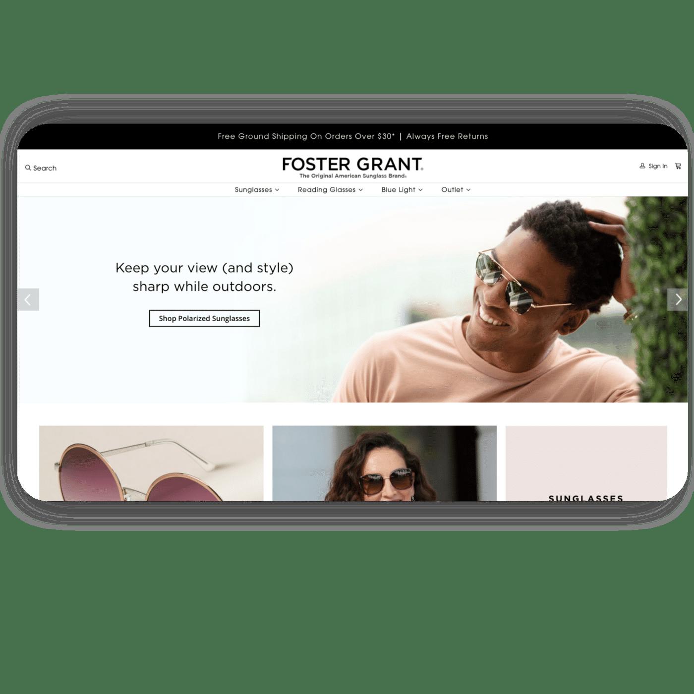 testimonial - foster grant