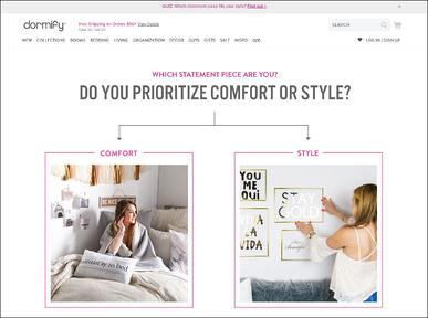 Guided Selling Experience - Interactive Quiz by Dormify