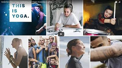 Interactive digital content with Lululemon