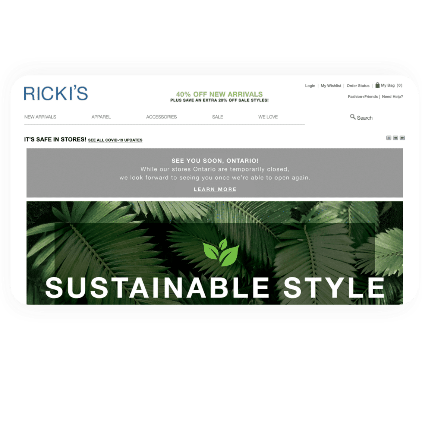 testimonial - rickies