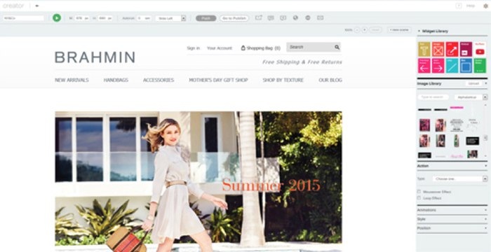 Brahmin Boosts Conversions with Compelling eCommerce Content