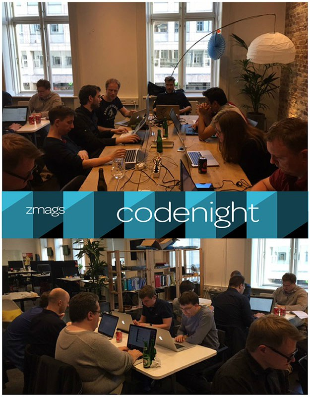 The Summer Heats Up with Zmags Code Night