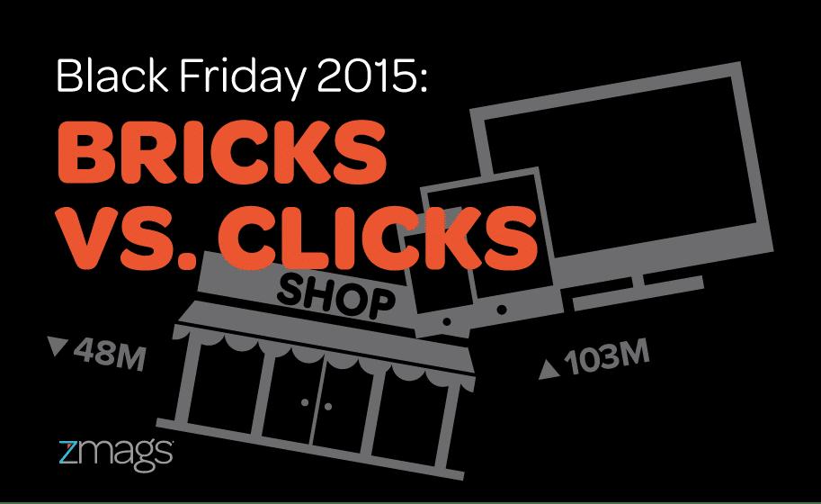 Black Friday 2015: Bricks vs. Clicks