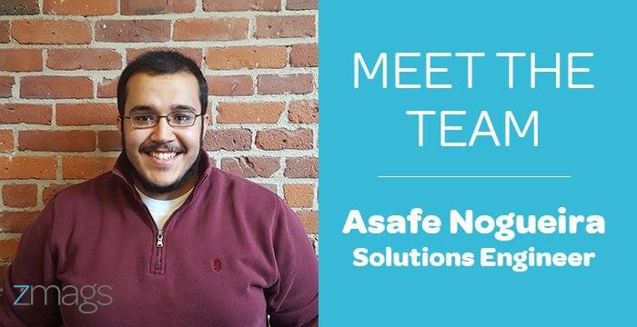 Meet The Team: Asafe Noguiera