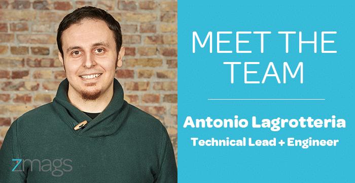 Meet The Team: Antonio Lagrotteria