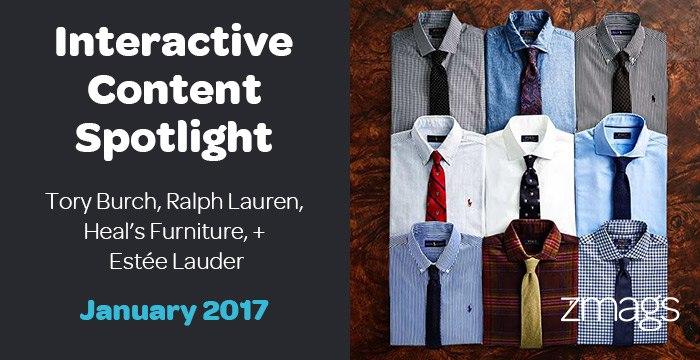 Interactive Content Spotlight: Estée Lauder, Heal's Furniture, Tory Burch, + More