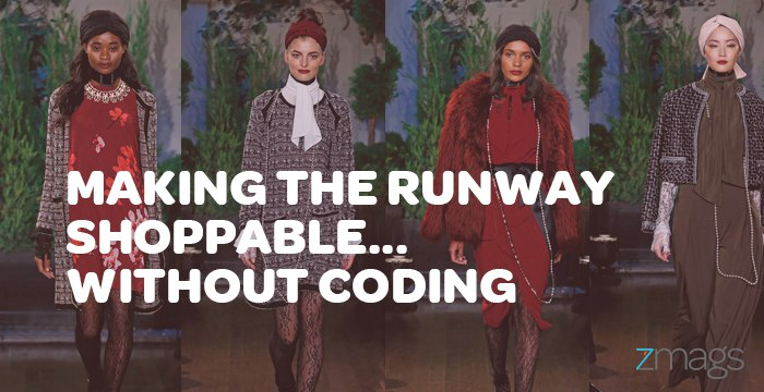 Making The Runway Shoppable in 3 Hours… Without Coding