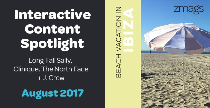 Interactive Content Spotlight: Long Tall Sally, Clinique, The North Face + More