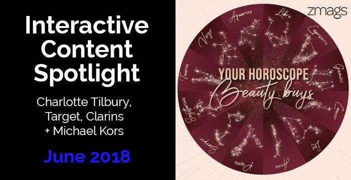 Content Spotlight: Michael Kors, Clarins, Charlotte Tilbury, + Target