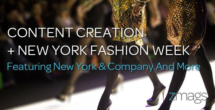 Digital Content Creation + NYFW 2017