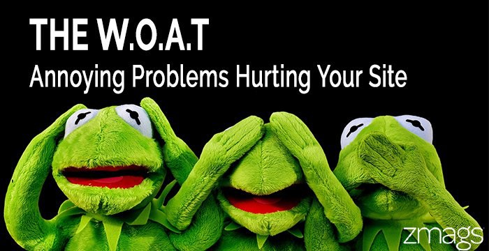 The W.O.A.T. - Minor Problems That Can Hurt Your Business