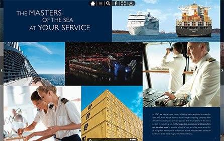 MSC Cruises Pioneers Travel Industry's Use of A Digital Publishing Platform