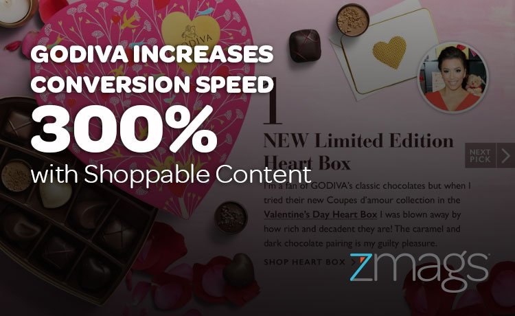Godiva Increases Conversion Speed 300% With Shoppable Content
