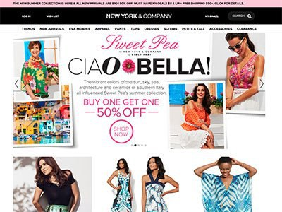 Creator Content Boosts Page Views for New York & Company by 600%