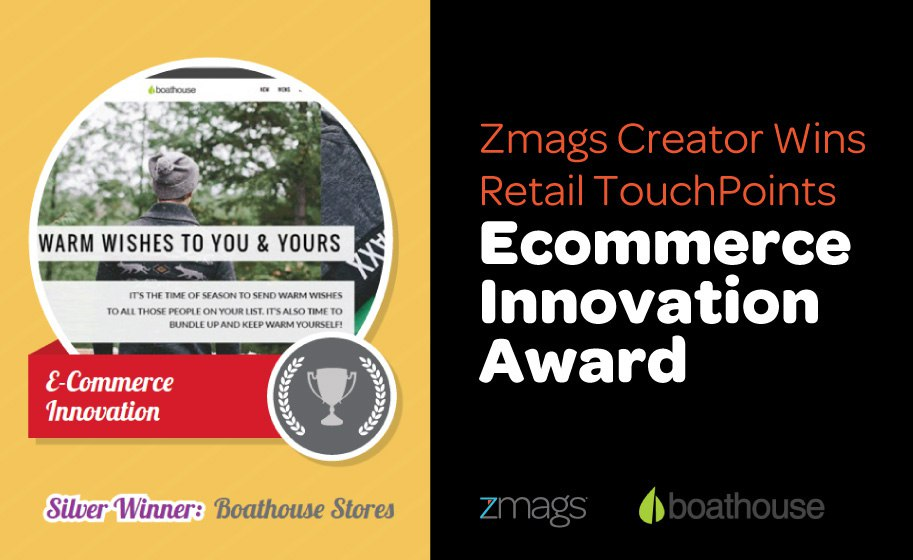 Zmags and Boathouse Stores Win Retail TouchPoints Customer Engagement Award