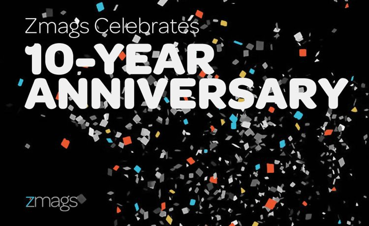 Zmags Celebrates 10-Year Anniversary