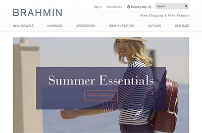 Brahmin Increases E-commerce Transactions 111 Percent with Zmags